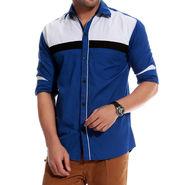 Brohood Cotton Shirt_Mfsd3002 - Blue