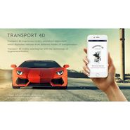Interactive Transport 4D Augmented Reality Flash cards For Kids Learning