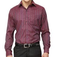 Copperline 100% Cotton Shirt For Men_CPL1187 - Maroon