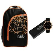 Fidato Combo of 1 Watch For Men + 1 Backpack_Fdwc78
