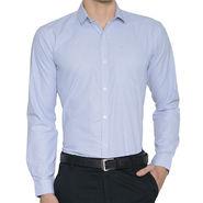 Being Fab Checks Shirt For Men_Bfgrp104 - White & Blue