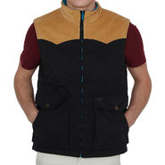 Levis Sleeveless Jacket For Men_Levisblkh - Black