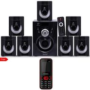 I KALL Tanyo 7.1 Speaker System With FREE Mobile Phone