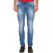 Slim Fit Jeans For Men_Ucblblue - Light Blue