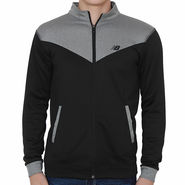 Slim Fit Jacket For Men_Nbgrey - Grey & Black