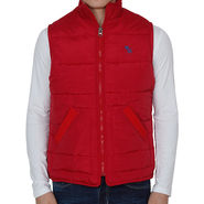Slim Fit Jacket For Men_A&fred - Red