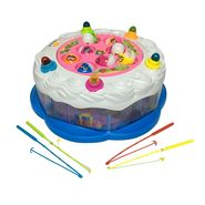 Rotating Happy Birthday Musical Fishing Board Game