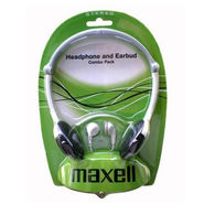 Maxell HPC-2 Headphones and Earphones Combo Pack