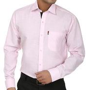 Fizzaro Regular Fit Cotton Shirt For Men_Fzs106 - Pink