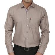 Fizzaro Regular Fit Cotton Shirt For Men_Fzs109 - Brown