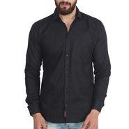 Pelican Slim Fit Cotton Shirt For Men_Cs01 - Black