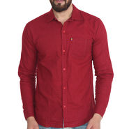 Pelican Slim Fit Cotton Shirt For Men_Cs02 - Maroon