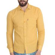 Pelican Slim Fit Cotton Shirt For Men_Cs03 - Yellow