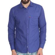 Pelican Slim Fit Cotton Shirt For Men_Cs04 - Blue