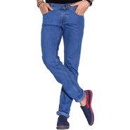 Fizzaro Faded Plain Regular Fit Jeans_Fzcjsbu - Sky Blue