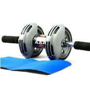 Ab Wheel Power Stretch Ab Roller & Slider For Abdominal Exercises