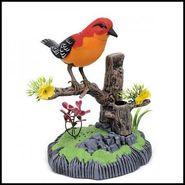 Sound Activated Heartful Bird Toy