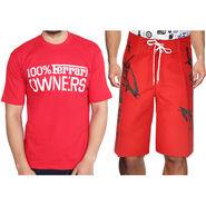 Combo of 1 Short & 1 Slim Fit Tshirt_Os105