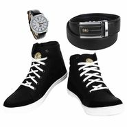 Combo of Mens Shoes & Essential Accessories_Osc11
