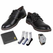 Combo of Mens Shoes & Essential Accessories_Osc18