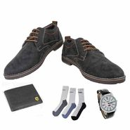 Combo of Mens Shoes & Essential Accessories_Osc21