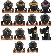Vendee Fashion 14 Designer Antique Jewellery Set_1975