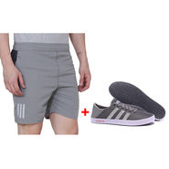 Combo of 1 Adidas Short & Shoes_Osms2