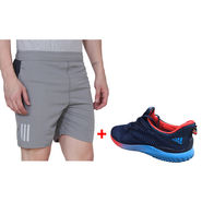 Combo of 1 Adidas Short & Shoes_Osms4