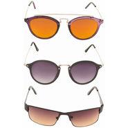 Combo of 3 Adine Unisex Sunglasses_Ad023761