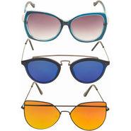 Combo of 3 Adine Unisex Sunglasses_Ad023161