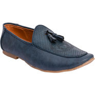Foot n Style Loafers Shoes For Men_FS5019 - Blue