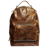 Fossil Unisex Leather Back Pack_Osbk01 - Brown