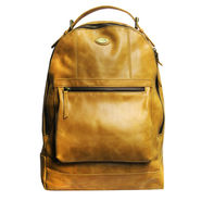 Fossil Unisex Leather Back Pack_Osbk03 - Tan