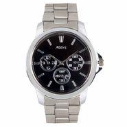 Adine Analog Round Dial Watch For Men_Rsw14 - Black