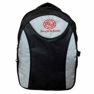 RSC Polyester Unisex Backpack_Rsc01618 - Black & Grey