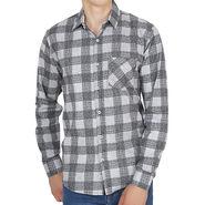 Branded Slim Fit Full Sleeves Shirt For Men_Os0067 - Black