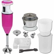 Xccess Honda 225 W Hand Blender - White & Pink _ X_Honda_Pink