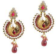Kriaa Pearl Drop Earrings _1303787
