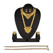 2 Gold Jewellery Sets with Free Payal