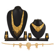 2 Gold Jewellery Sets with Kamarbandh