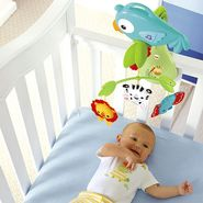 Fisher Price Rainforest Friends 3-in-1 Crib Mobile with Motorized Action