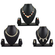 3 Austrian Diamond Jewellery Sets (3AUD6)