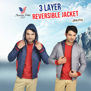 3 Layer Reversible Jacket (RNJT6)