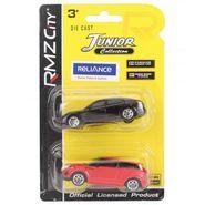RMZ Die Cast Porsche Panamera & Range Rover Evoque Red & Black - Pack Of 2 (4895065058389)