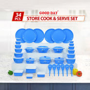 34 Pcs Store Cook & Serve Set
