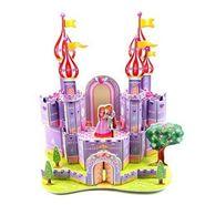 35pcs 3D Puzzle Purple Castle pz-10