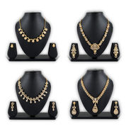 4 Austrian Diamond Jewellery Sets (4AUD2)
