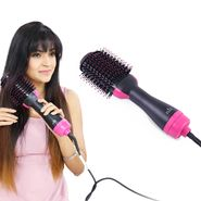 Hot Air Hair Dryer & Brush
