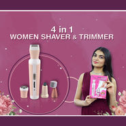 4 in 1 Women's Shaver & Trimmer