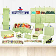 40 Pcs Organizer Set
